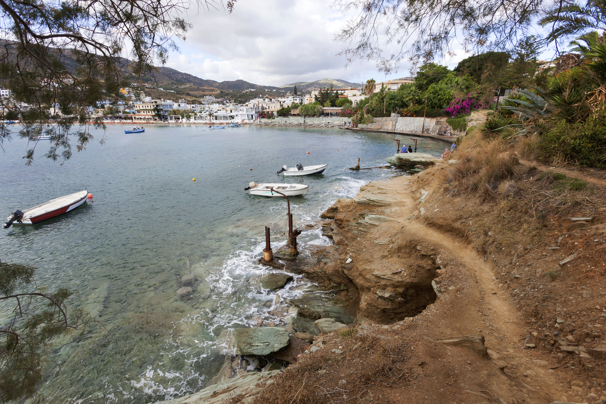 In Agia Pelagia, Natural Beauty and a Greek Orthodox Landmark