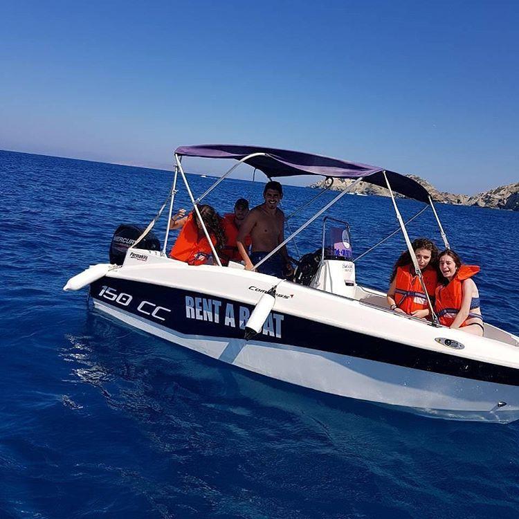 Rent a Boat Agia Pelagia