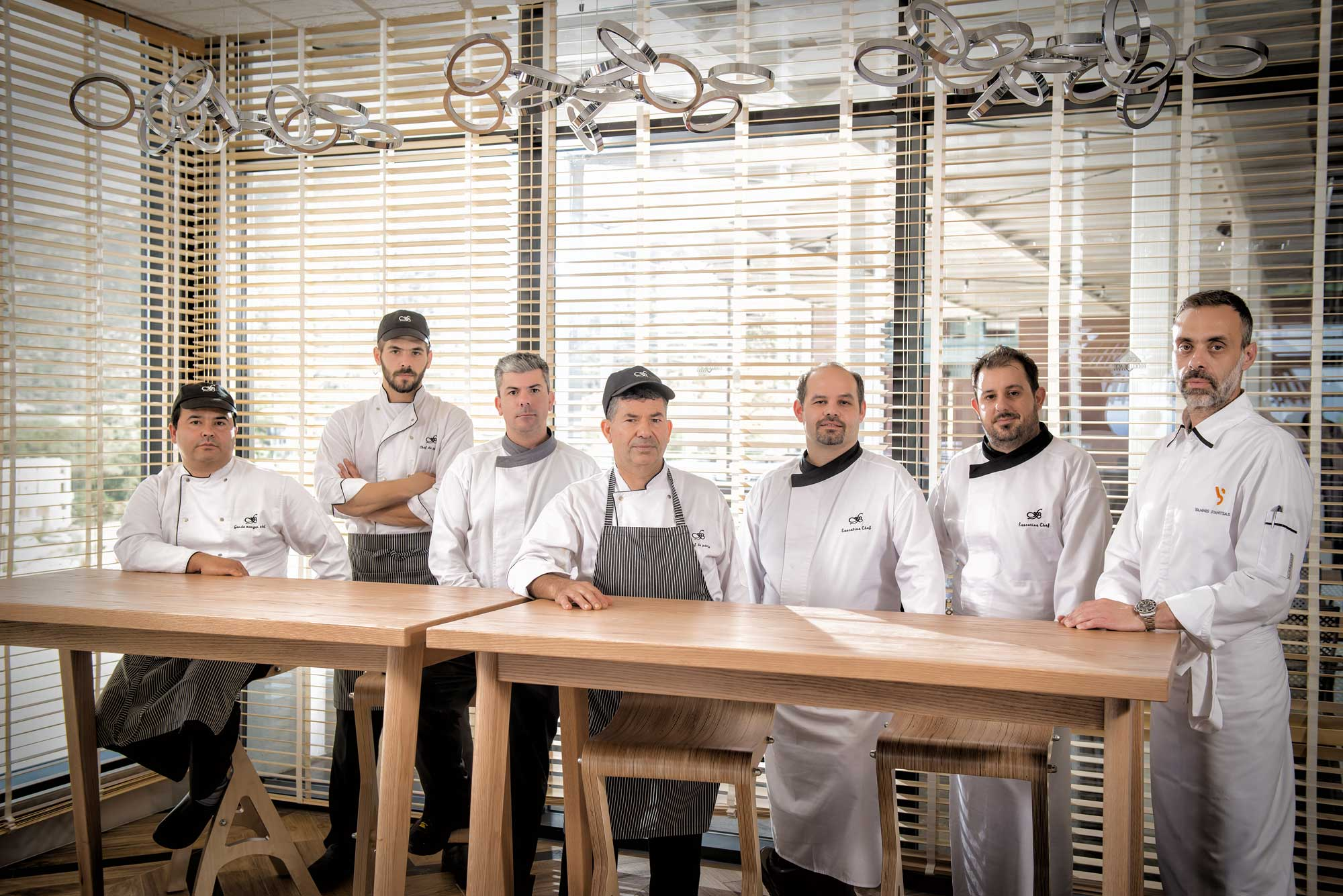 Yannis Stanitsas and his team at Fodele.