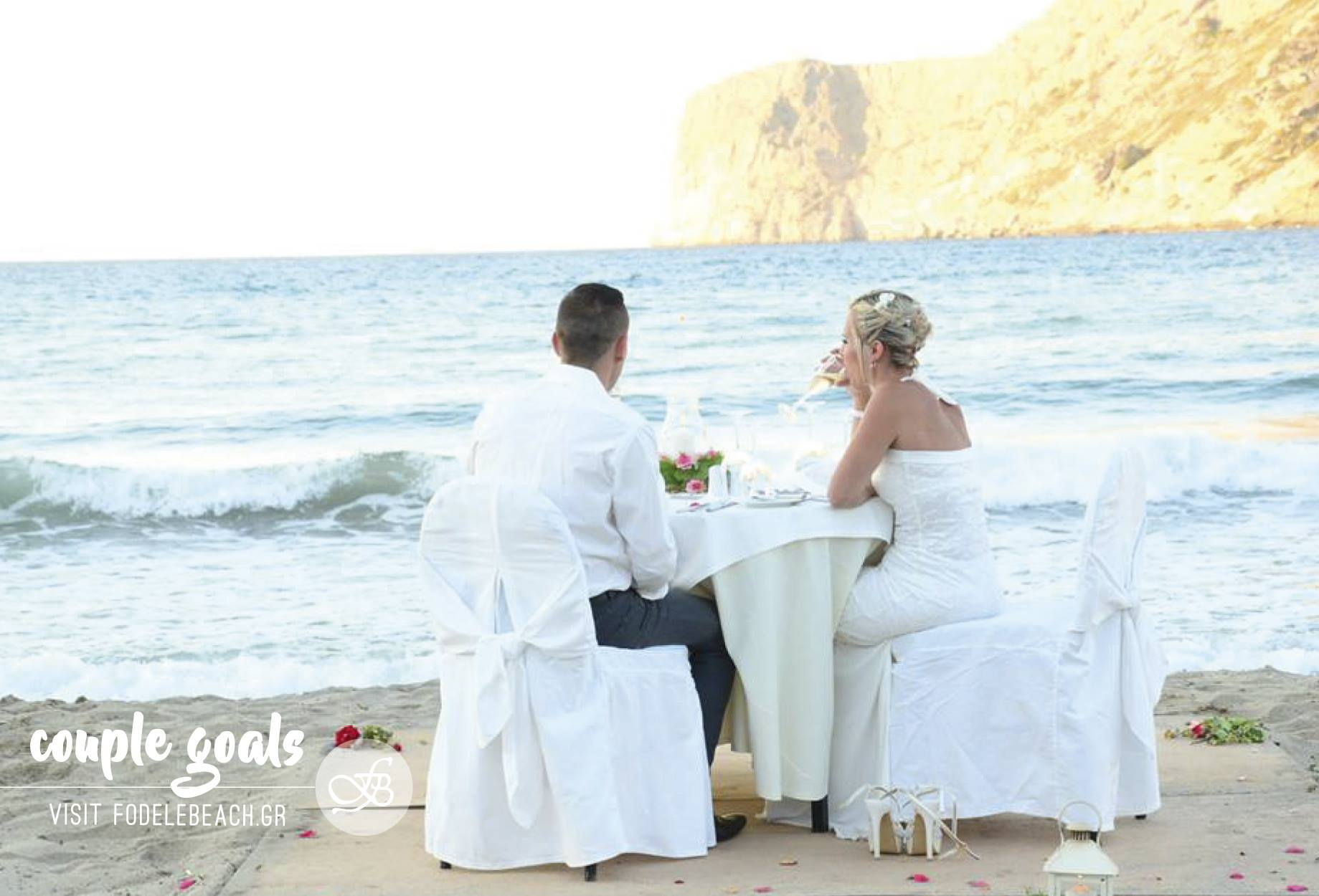Romantic Dining at Fodele Bay
