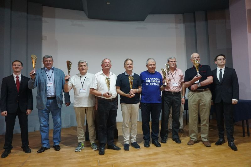 Fodele Beach hosted the 2018 ACO World Senior Chess Championship