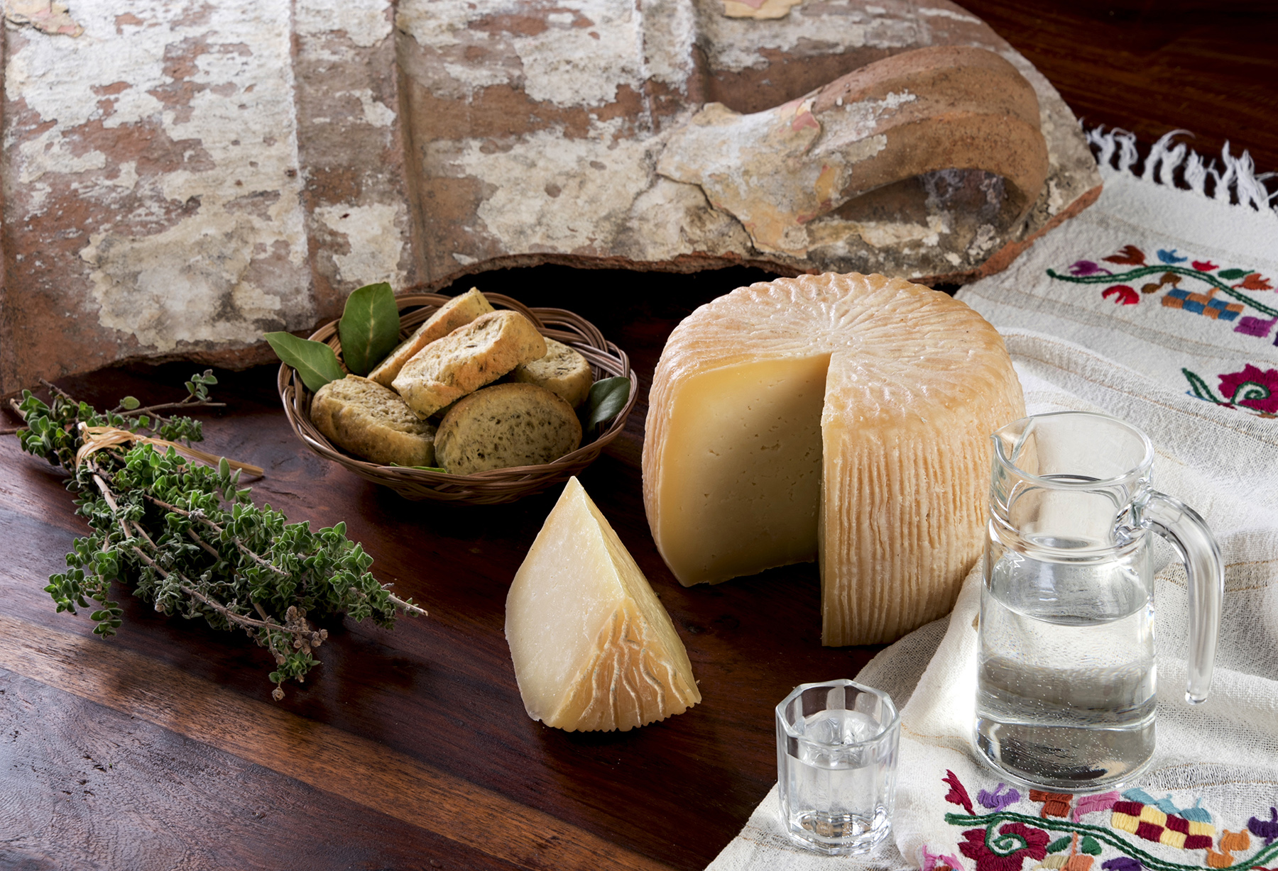 Cretan Cheeses and Other Dairy Products
