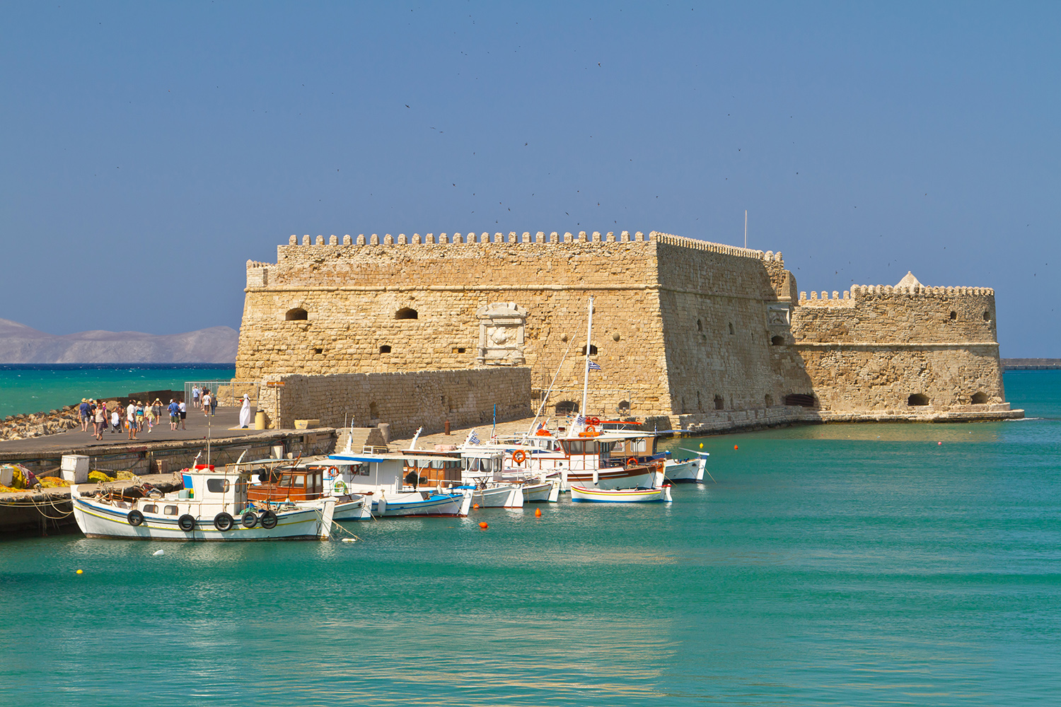 Must-see: Koules Fortress in Heraklion