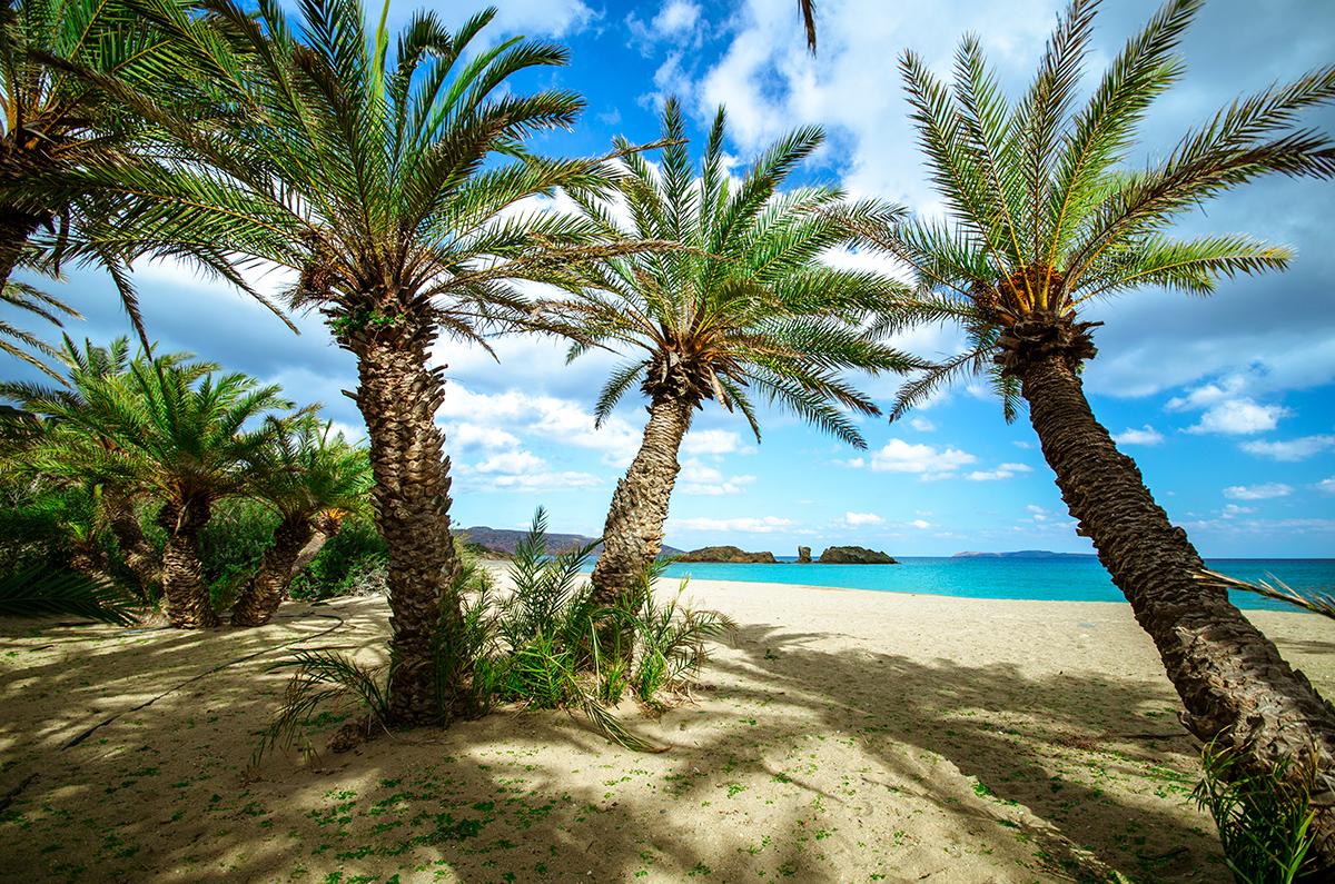 The exotic beaches of Crete