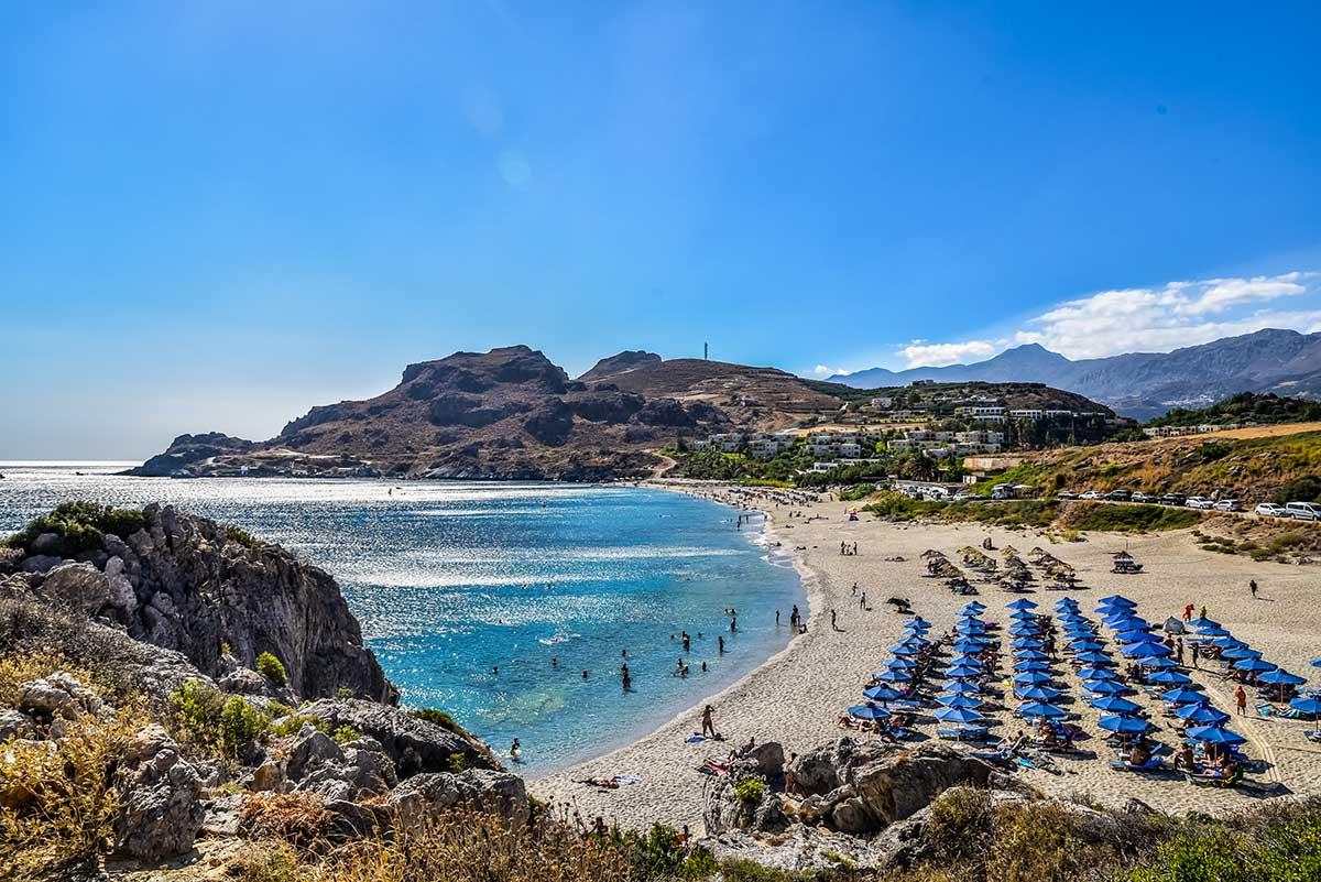 Go South: explore the area of Plakias